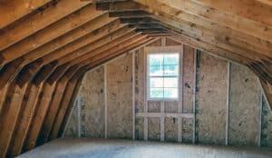 Colonial Barns   Fully Lofted Shed Garage thumbnail