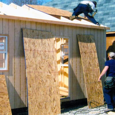 Colonial Barns & Sheds | on site shed builders