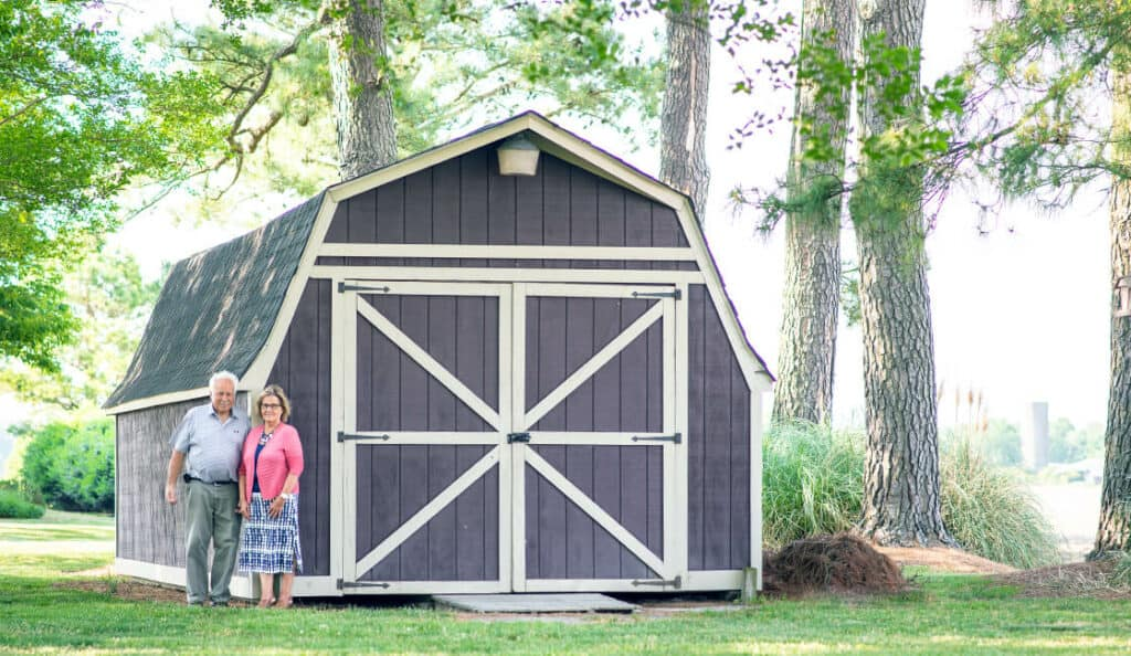 Short Wall Barn Style Shed