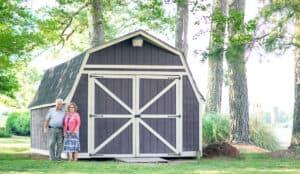 Short Wall Barn Style Shed thumbnail